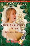 Her Christmas Wish (Tiny Blessings Series #5) (Love Inspired #324)