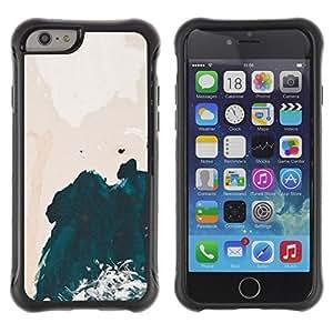 """Hypernova Defender Series TPU protection Cas Case Coque pour Apple Iphone 6 [Arte Wave Pink Sky Acuarela""""]"""