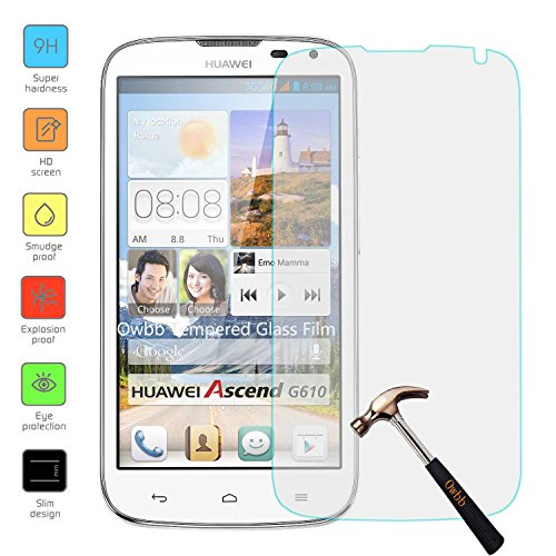 Tempered Glass Screen Protector for Huawei Ascend G610 - 6