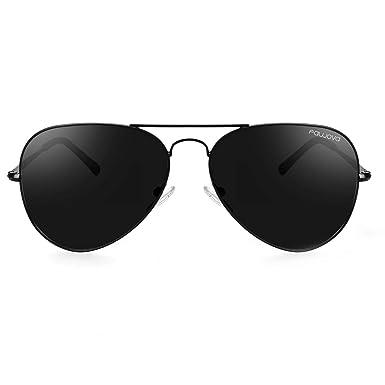 fawova 2019 Gafas de Sol Aviador Hombre Unisex Polarizadas, UV400, Cat.3, 58mm,CE