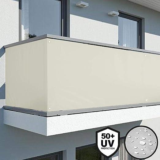 Edera Bakaji Telo Copertura Frangivista Frangivento Per Ringhiera Protezione Balcone Dimensione 600 X 90 Cm In