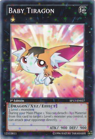 SP13-EN027-1st EDITION BABY TIRAGON YU-GI-OH STAR RARE