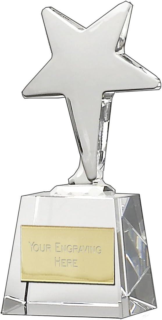 Gold Triumph Female Football Trophy 3 sizes free engraving /& p/&p