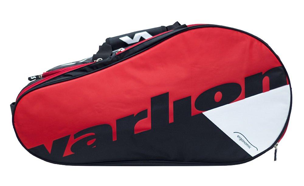 Varlion Ergonomic Rojo - Paletero de pádel, Unisex Adulto, Rojo/Negro/Blanco: Amazon.es: Deportes y aire libre