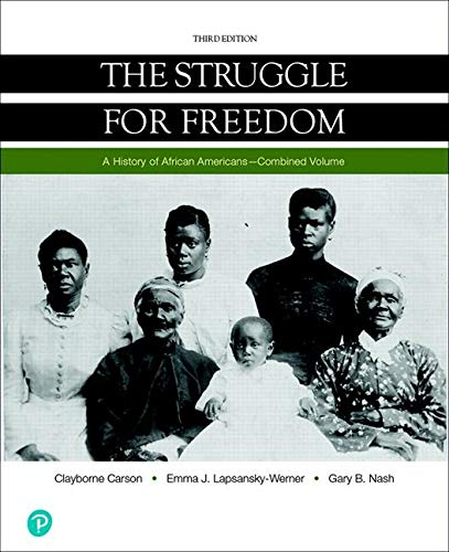 Books : Struggle for Freedom, The, Combined Volume, Loose-Leaf Edition (3rd Edition)
