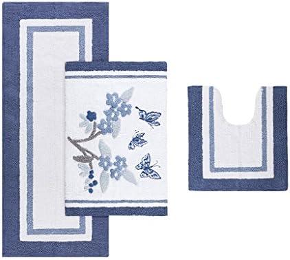 Madison Park Solandis Rug, Blue