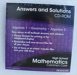Amazon pearson mathematics algebra 1 geometry algebra 2 amazon pearson mathematics algebra 1 geometry algebra 2 common core edition answers solutions cd rom 0133185664 books fandeluxe Image collections