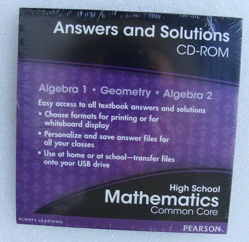 Amazon Pearson Mathematics Algebra 1 Geometry Algebra 2