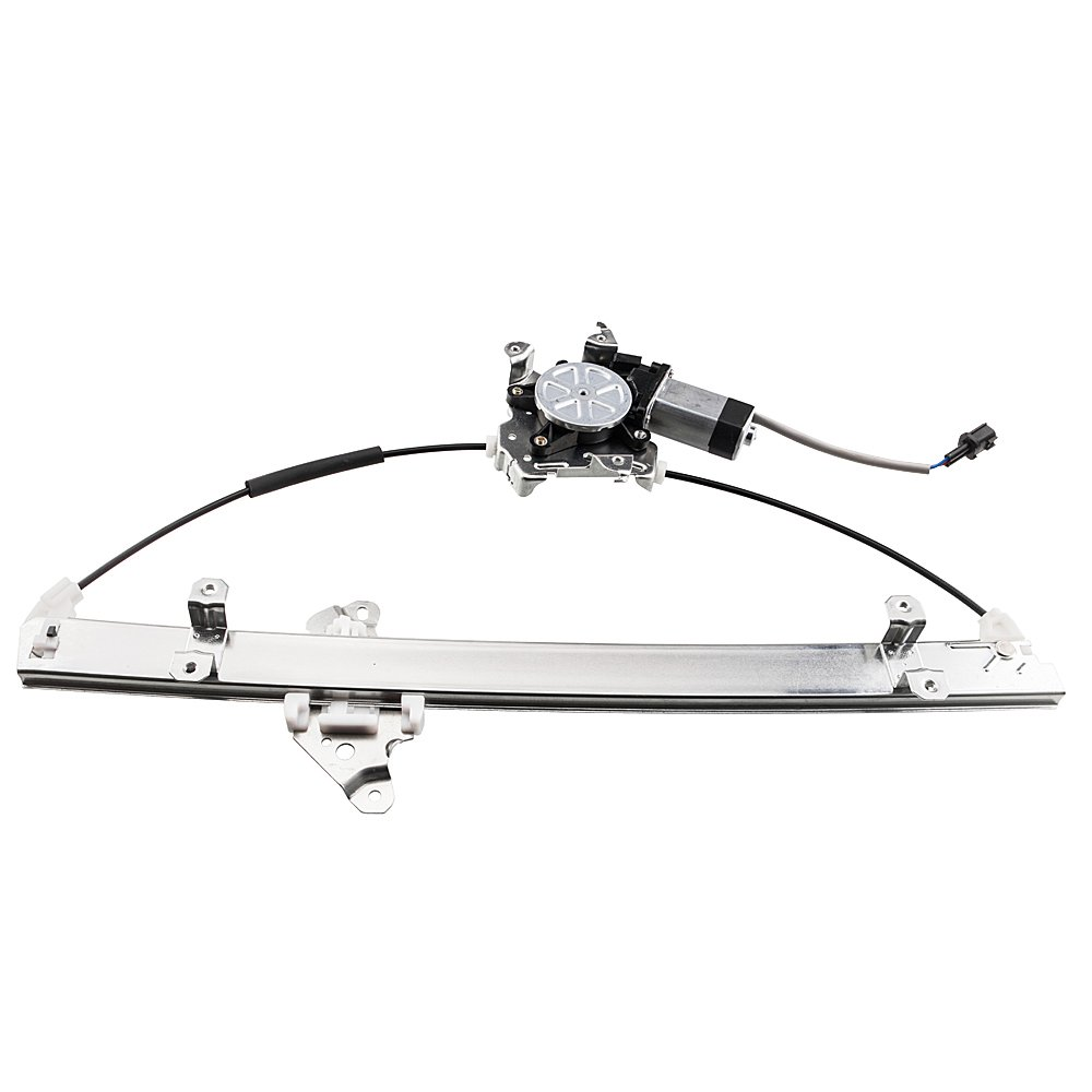 Front Right Passenger Side Power Window Lift Regulator with Motor Assembly Replacement for Nissan 2005 2006 2007 2008 2009 2010 2011 2012 2013 2014 2015 Frontier/Xterra & 2005-2006 Pathfinder MILLION PARTS