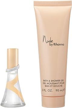 Juego de gel de ducha y colonia, de Rihanna Nude, 1 pack: Amazon.es: Belleza