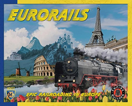 Mayfair Games MFG4507 EuroRails product image
