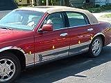 TOWN CAR 1998-2011 LINCOLN (8 Pc: SS Rocker Panel Body Ac...