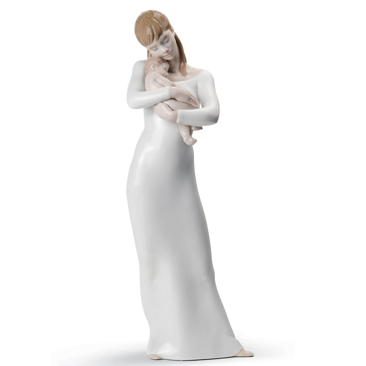 Lladro Goodnight My Angel Mother and Child