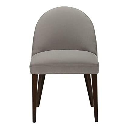 Amazon Com Ethan Allen Vera Dining Chair Clasie Gray Chairs
