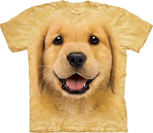 Golden Retriever Puppy T-Shirt-XL (Retriever T-shirt Tee)