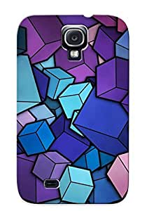 High Quality Podiumjiwrp Cubes Skin Case Cover Specially Designed For Galaxy - S4 by lolosakes