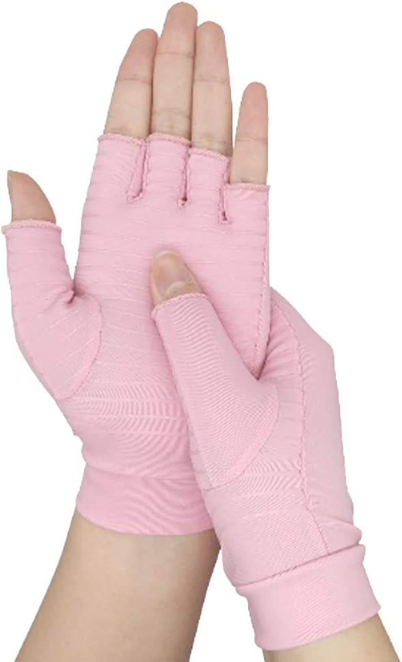 Kangwell Compression Arthritis Gloves Small 1 Pair Fingerless Gloves for Women,Gloves for Indoor /& Outdoor Exercise,Lady Gloves for Relieving Joint Pain and Muscle Strain,Computer Typing