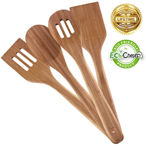 EcoCheph 4-Piece Eco-friendly Non Scratch Natural