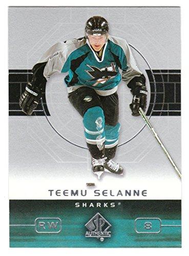 Teemu Selanne (Hockey Card) 2002-03 Upper Deck SP Authentic # 76 NM/M (Selanne Nhl Teemu)