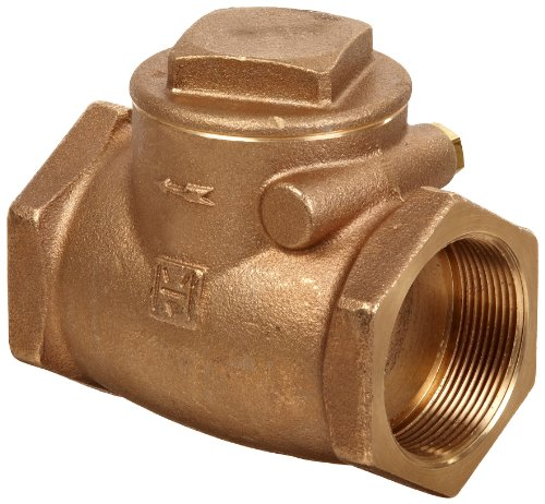 (Milwaukee Valve 510T Series Bronze Swing Check Valve, Class 150, 1-1/2