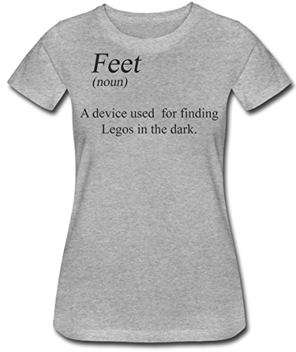 Finest Prints Feet (Noun) A Device used For Finding Legos In The Dark Women's T-Shirt -