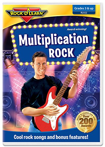 Multiplication Rock DVD by Rock 'N Learn