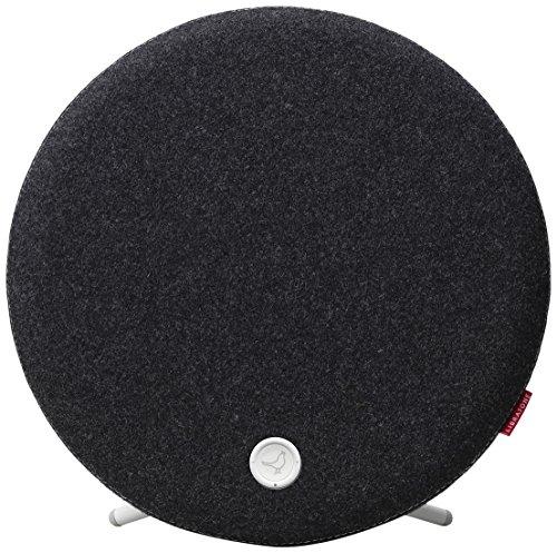 Libratone LOOP Wireless Lautsprecher mit Wandhalterung (AirPlay, DLNA, PlayDirect) Pepper Black
