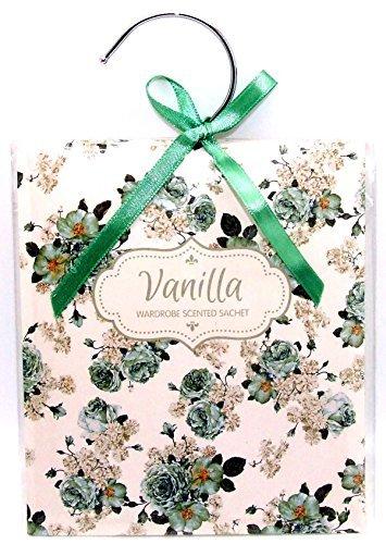 Scented Wardrobe Hanger - Scented Sachet in - Vanilla Scent by TJM by TJM Ltd (Image #1)