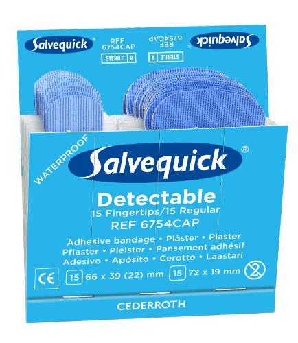 Medique Cederroth 6754CAP Fingertip Sterile Blue Detectab...