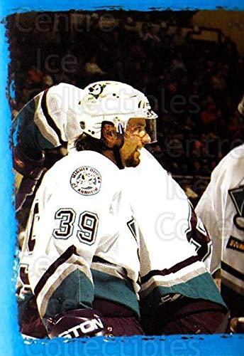 (CI) Petr Sykora, Rob Niedermayer, Anaheim Mighty Ducks Hockey Card 2003-04 Panini Stickers 204 Petr Sykora, Rob Niedermayer, Anaheim Mighty Ducks ()