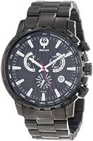 Brillier Men's 16-07 Endurer Black IP Chronograph Swiss Quartz Watch from Brillier