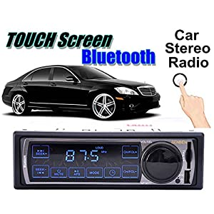 audew voiture autoradio 1 din cran tactile tooth st r o radio lcd lecteur mp3 fm usb sd poste. Black Bedroom Furniture Sets. Home Design Ideas