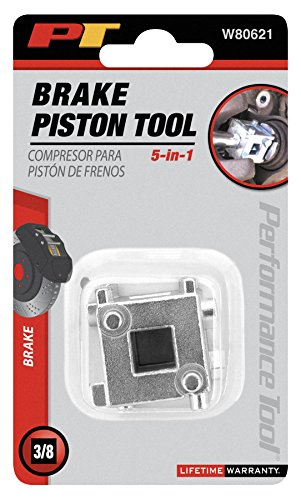 (Performance Tool W80621 3/8-Inch Drive Disc Brake Piston Tool)