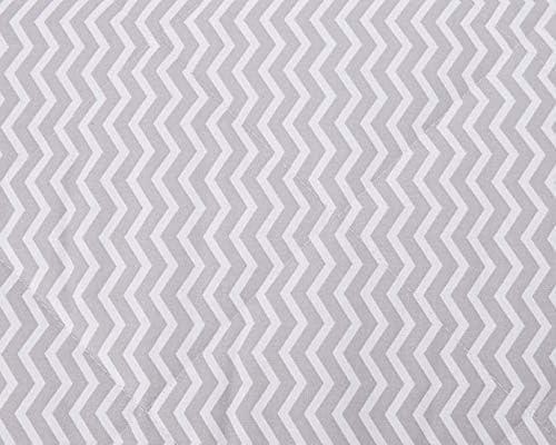 Italbaby zigzag Maxi Parure de lit, gris