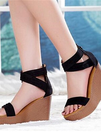 5 Zapatos negro tacones De Cn38 Robusto Mujer Uk6 Black Uk5 pu 5 Eu38 Cn39 casual Eu39 tacones Black us7 Zq us8 tac¨®n BYdzRKxqBw