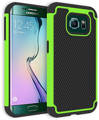 samsung s6 edge case green