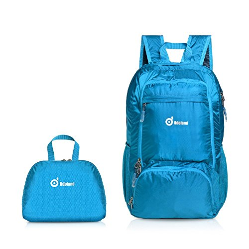 Backpack Packable Lightweight Compartments Resistant