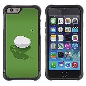 Suave TPU Caso Carcasa de Caucho Funda para Apple Iphone 6 / Iguana & Fly / STRONG