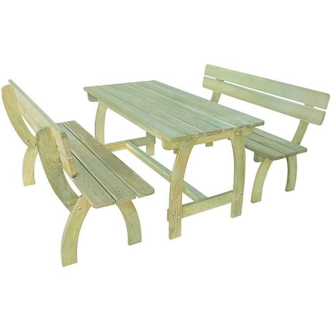 Furnituredeals mesa y sillas plegables para exterior Set de ...