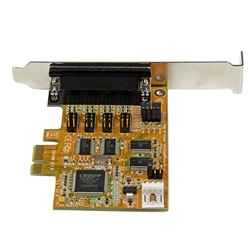 StarTech.com 4-Port PCI Express RS232 Multiport Serial Card with Power Output and ESD Protection PEX4S553S by StarTech (Image #4)