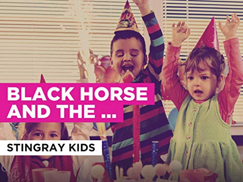 Black Horse And The Cherry Tree in the Style of Stingray Kids