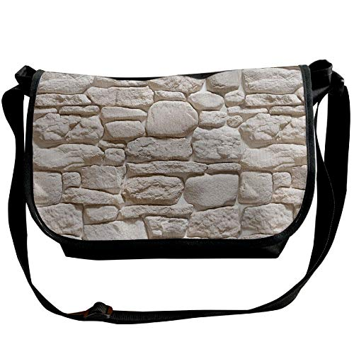 Single Bag Fashion Bag Coarse Stone Pattern Black Women's Texture Satchel Handbags Travel Shoulder wCX1qYz