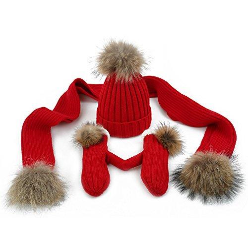 Mujer Calentar Punto Colores Set Red Invierno Disponibles Turismo Espesado Piezas Guantes Bufanda Deportes Beige color De 6 Al Libre Sombrero 3 Gorra Liangjun Aire SFHWf8nn