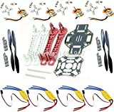 Generic ADVANCEKIT REES52 F450 Quadcopter Frame Kit with A2212 KV1000 Brushless Motor and 4 30A ESC and 2 Pair 1045 Propeller
