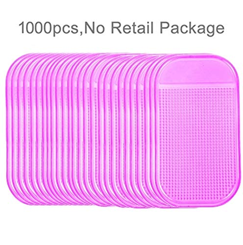 QingBo Phone Holder 1000 PCS Car Anti-Slip Mat Super Sticky Pad for Phone/GPS/ MP4/ MP3 by QingBo-US