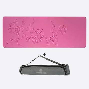 Caucho Natural Yoga Mat 4 Mm Body Line Antideslizante ...