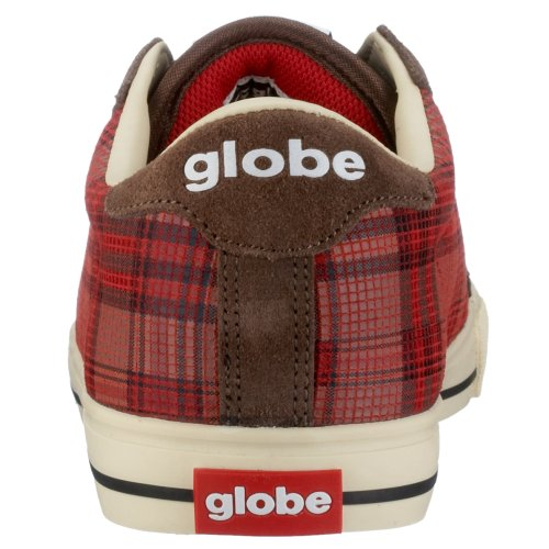 Globe - Informal hombre Earth/Red Plaid