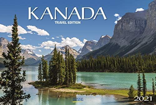 Korsch Verlag Canada Travel Edition Calendar 2021 Panoramic Format