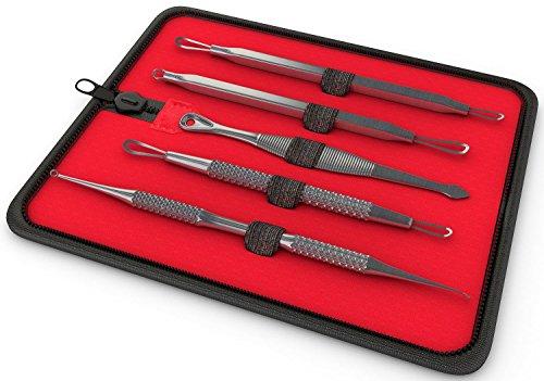 InstaSkincare Blackhead and Blemish Remover Tool Kit - Esthetician Skin Care