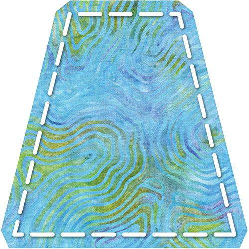 China Tumbler (AccuQuilt Go! Fabric Cutting Dies, Tumbler 4-Inch Finished Size)